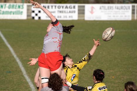 Saint Orens Rugby Féminin - Romagnat, match du 20 février 2011   Philippe Gassmann Photos   Scoop.it