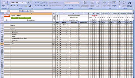 Excel based template for concrete estimating | Construction Industry Network | Scoop.it