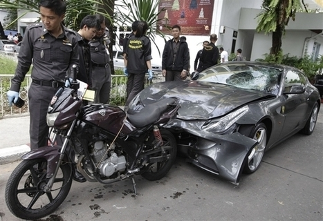 Car crash politics: Laws don't touch rich in Thailand | Thailand Business News | Scoop.it