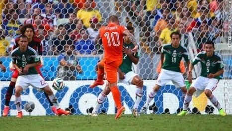 World Cup: Netherlands leaves it late to beat Mexico | FIFA World Cup - Brazil 2014 | Scoop.it