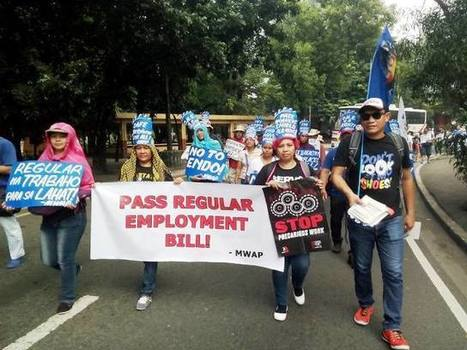 Metalworkers join Global Day of Action to STOP Precarious Work « Bulatlat | Occupational and Environment Health | Scoop.it