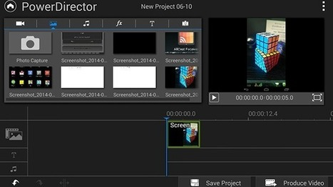 PowerDirector (Finally) Brings Decent Video Editing to Android | BPEV: Best Practices in Educational Video | Scoop.it
