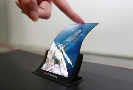 "LG to demo 5"" OLED flexible panel, first Full HD 7"" tablet panel 