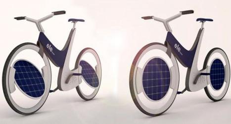 Concept Ele, un vélo solaire avec panneaux intégrés dans les roues ! | Solar Energy News | Scoop.it