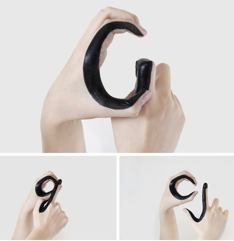 A Hand-Painted Typographic Experiment by Tien-Min Liao | images in context | Scoop.it