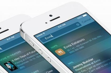 Apple iOS 8 vs iOS 7 - features compared - Expert Reviews | IOS | Scoop.it