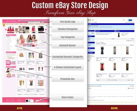 Rejuvenate Your Ebay Store With A Custom Store Design | Professional eBay Listing Template Design | Scoop.it