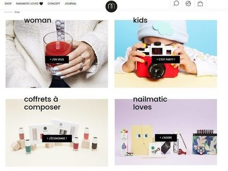 Nailmatic se dote d'un e-shop | Beauté & Cosmétiques | Scoop.it