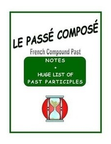 French Passé composé - Notes and Comprehensive List of Past Participles | French Resources to Download and Print | Scoop.it