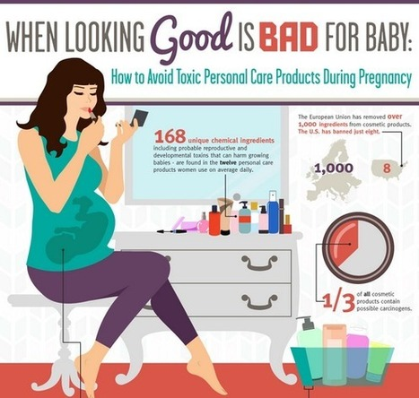 Avoid chemicals in cosmetics when pregnant | Cosmetici e Salute | Scoop.it