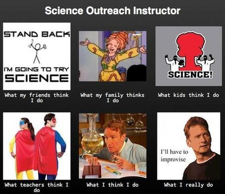Science Outreach Instructor | What I really do | Scoop.it