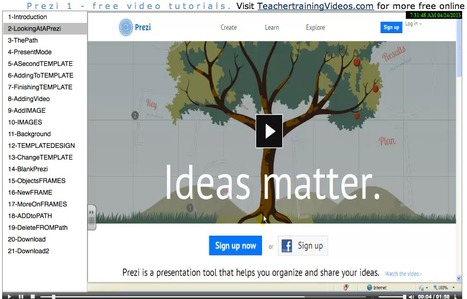 Free online tutorial for using Prezi | Communicate...and how! | Scoop.it