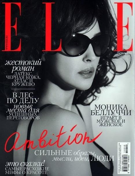 Elle Russia sceglie Monica Bellucci | Italica | Scoop.it