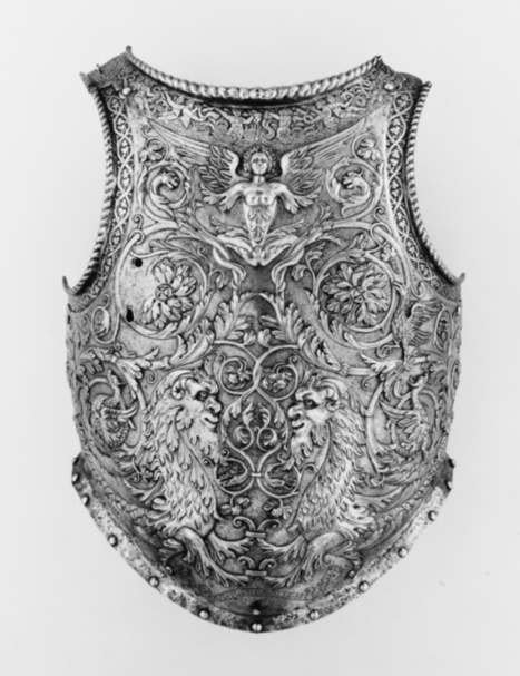 Milanese Breastplate by Giovanni Paolo Negroli | All Geeks | Scoop.it