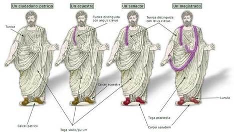 Diferencias sociales basadas en la vestimenta | Imperium Romanum | Scoop.it
