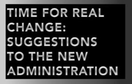 Time for Real Change: Unusual Suggestions for an America Undergoing Change | Public Policy Suggestions | Scoop.it