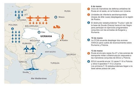 Movimientos militares en torno a Ucrania | Legendo | Scoop.it