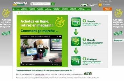 Feu Vert met ses stocks en ligne avec le « click and collect »   Franchise 2.0   Scoop.it