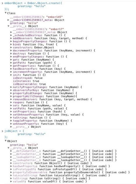 Understanding Ember.Object :: Cerebris | Javascript, html5 | Scoop.it