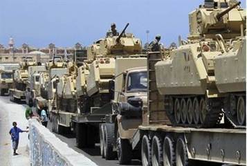 Egypt's Largest Military Maneuver 'Meant for Israel' | Military-Stuff | Scoop.it