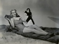 Carole Landis Monkeys Around | Herstory | Scoop.it