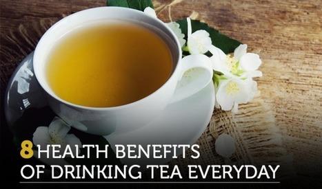 8 Health Benefits Of Drinking Tea Everyday   Green Hill Tea Blog   Green Tea   Scoop.it