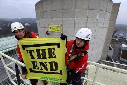 Greenpeace protests Europe's ageing nuclear plants | Sustain Our Earth | Scoop.it