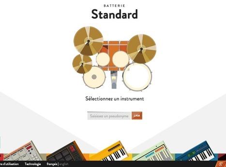 Faites de la musique en ligne avec Google : JAM with Chrome... | L'e-Space Multimédia | Scoop.it