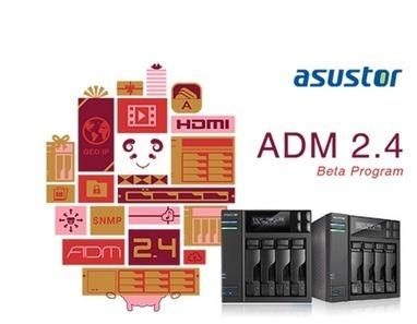 News : ASUSTOR ADM 2.4 définitif en approche imminente… | Autour de... Sam | Nas et réseaux | Scoop.it