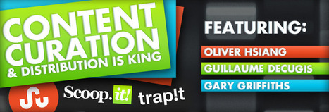 Content Curation & Distribution featuring StumbleUpon, Scoop.it, Trap.it | G Social Media | SMB Content Curation Monitor | Scoop.it
