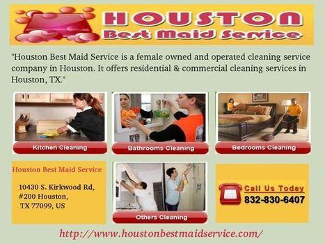 Maid Service In Houston | houston best maid service | Scoop.it