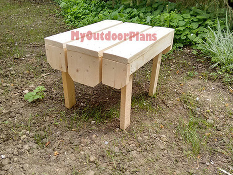 Adirondack Table | Free Outdoor Plans - DIY Shed, Wooden Playhouse, Bbq, Woodworking Projects | Garden Plans | Scoop.it