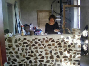 Montage d'un mur en #bois cordé #idée #déco #DIY | Best of coin des bricoleurs | Scoop.it