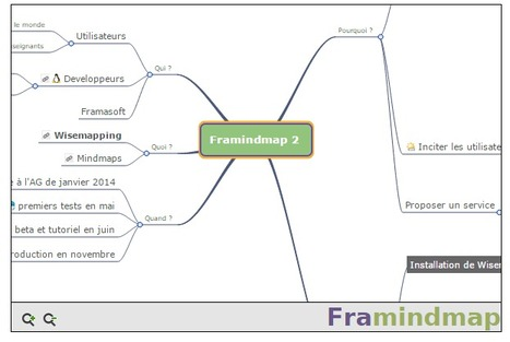 Lorsque Framindmap rencontre Wisemapping | TICECDDP10 | Scoop.it