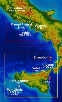 Vulcani attivi in Italia | vulcani | Scoop.it