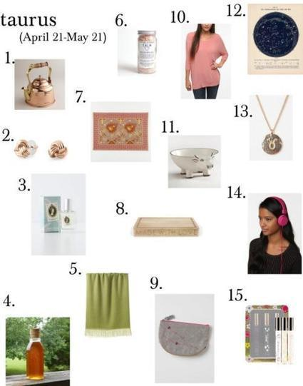 Gift Ideas by Astrology Sign Matching - | Western Astrology | Scoop.it
