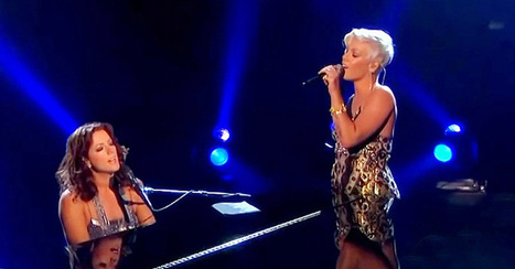 "Sarah McLachlan's duet of ""Arms Of The Angel"" with Pink left the audience in awe. 