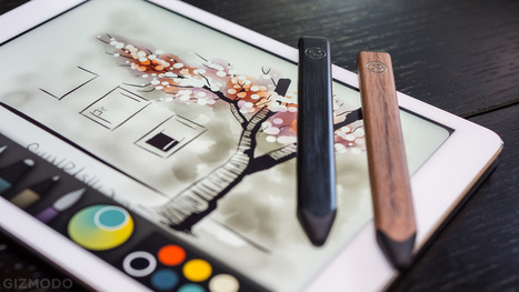 The Prettiest iPad Drawing App Now Has the Prettiest Stylus Companion - Gizmodo | UI Design | Scoop.it
