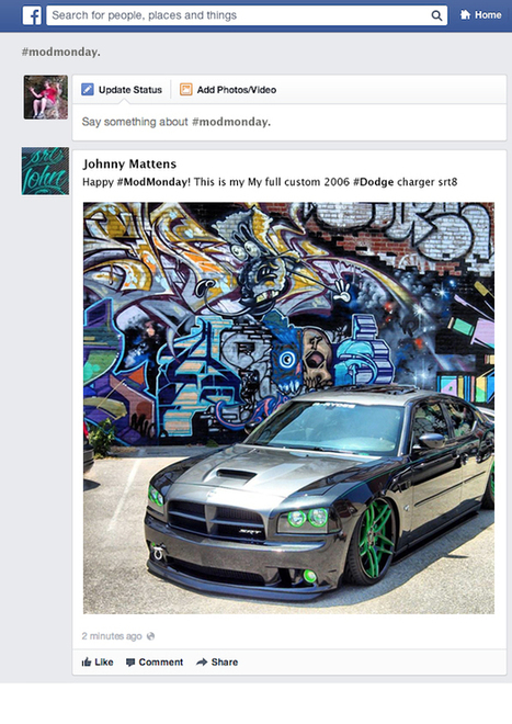 What Brands Need to Know About Facebook Hashtag | 3.0 society | Scoop.it
