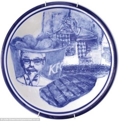 Last Suppers Of Death Row Prisoners Painted On Plates - DesignTAXI.com | Visual Culture and Communication | Scoop.it