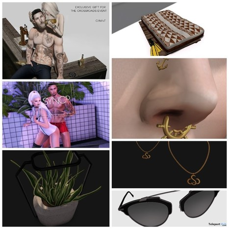 Pose, Accessories, and Home Decor The Crossroads Grand Opening Gift by Various Designers | Teleport Hub - Second Life Freebies | Second Life Freebies | Scoop.it