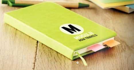 Why giving away Promotional Diaries can promote your Business on a regular basis | Promotional Merchandise | Scoop.it