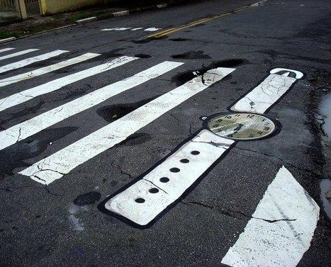 Decoración de elementos de la infraestructura pública urbana de Sao Paulo   Vale la pena Ver o Leer.   Scoop.it