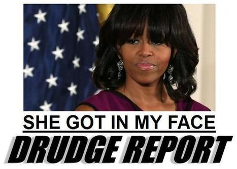 """Lesbian Protester on Michelle Obama:  """"She Came Right Down on My Face"""" 