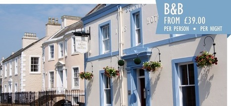 The Selkirk Arms Hotel Kirkcudbright. Dumfries and Galloway. Scotland | Scotland Holiday | Scoop.it