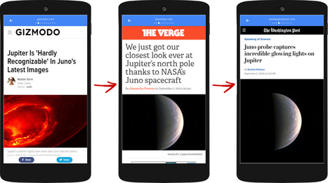 Google's AMP Viewer: the Tinder UX for content? | tech news - tricks | Scoop.it