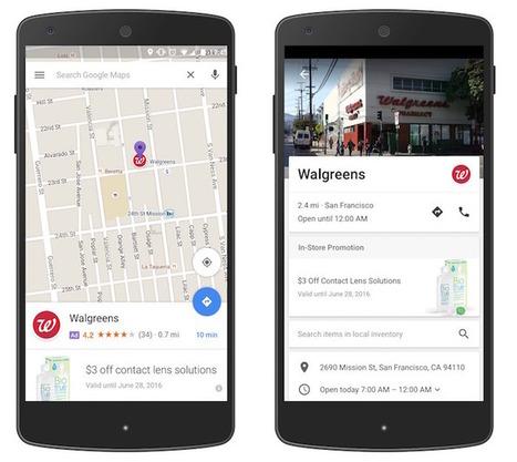Les publicités vont apparaitre à plusieurs endroits sur Google Maps | Freewares | Scoop.it