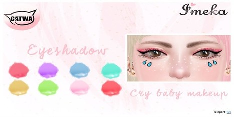 Cry Baby Makeup For Catwa Head Group Gift by Imeka | Teleport Hub - Second Life Freebies | Second Life Freebies | Scoop.it