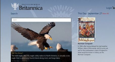 Encyclopaedia Britannica app for Windows in the Windows Store | WEBOLUTION! | Scoop.it