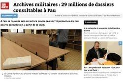Ouverture d'une salle de lecture aux archives militaires de Pau   Auprès de nos Racines - Généalogie   Scoop.it